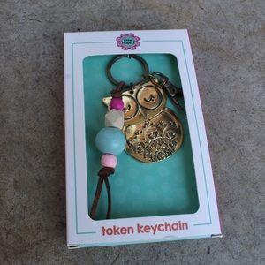 Owl token keychain